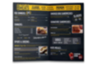 BBQ Restaurant Takeout Menu