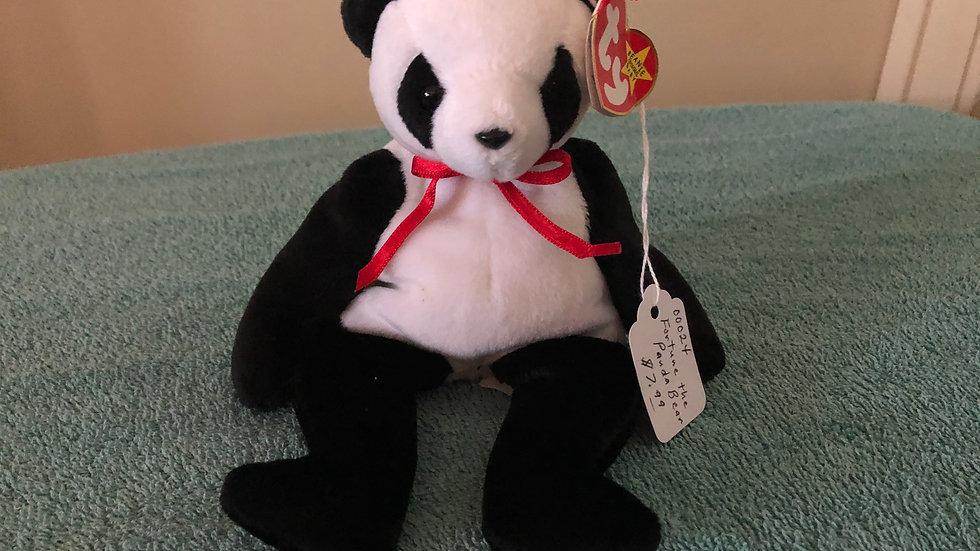Fortune The Panda Bear Beanie Baby