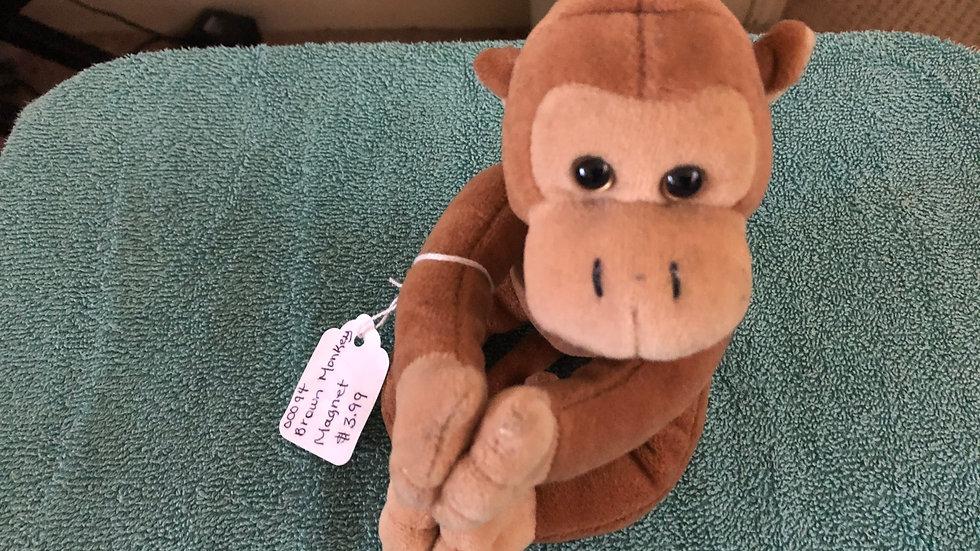 Magnet Monkey Beanie Baby