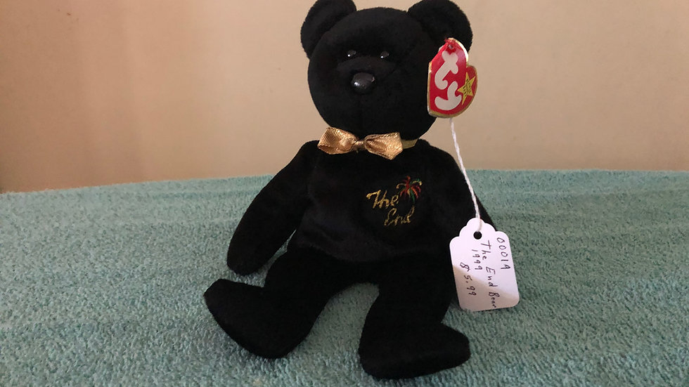 The End Bear 1999 Beanie Baby