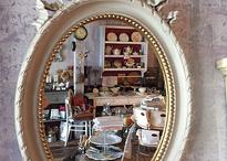 Oval Lubin mirror
