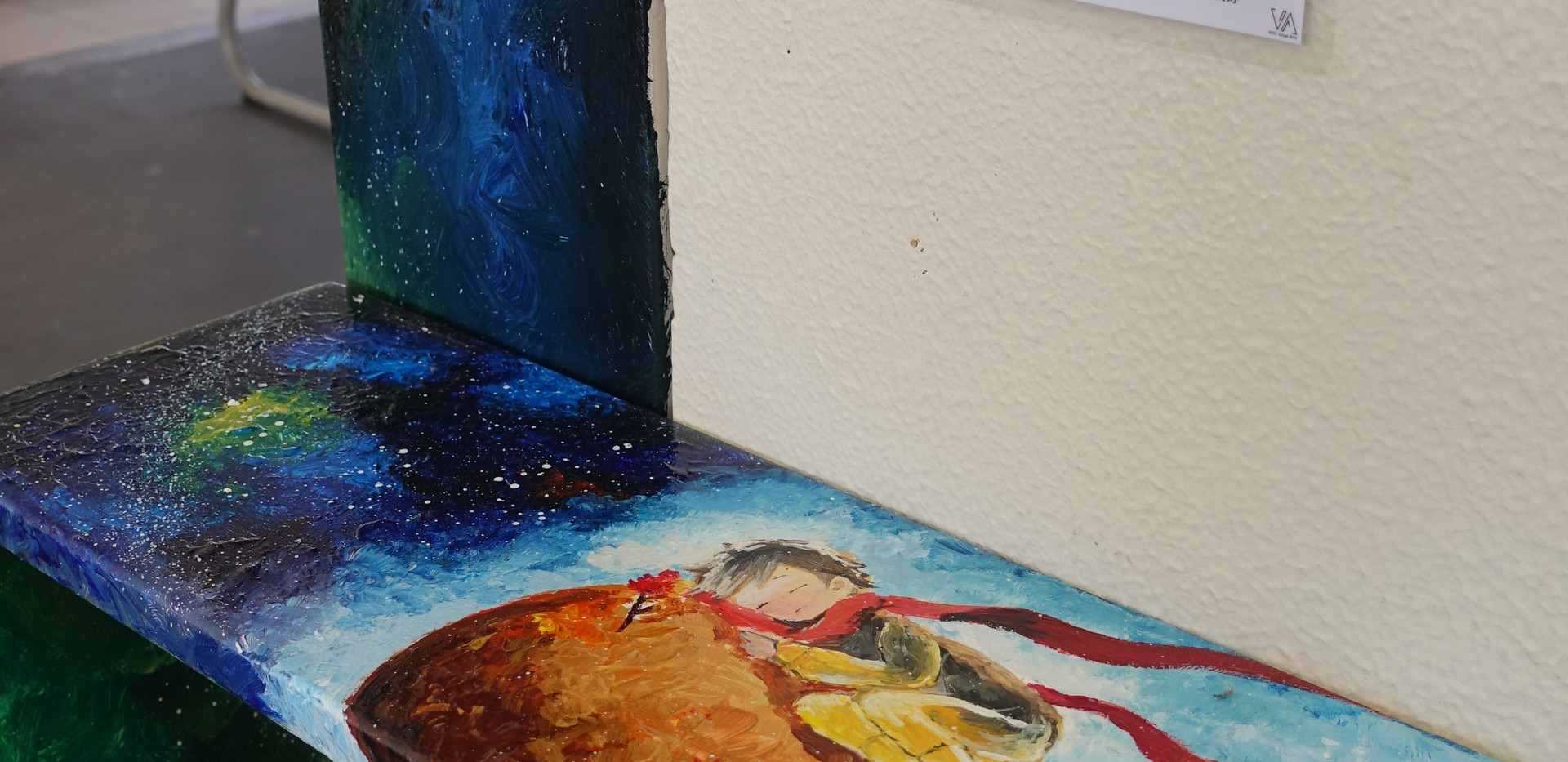 HTYC VA - Wall Painting Team - School-based Project 2019  「校園美化」計劃 1 - 漂書.追夢