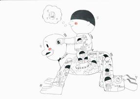 2019 - 2020 香港動漫海濱樂園寫生比賽(中學組) 優異獎    S3B  Tang KS