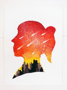 1D CHAN YH, My Skyline, 2018