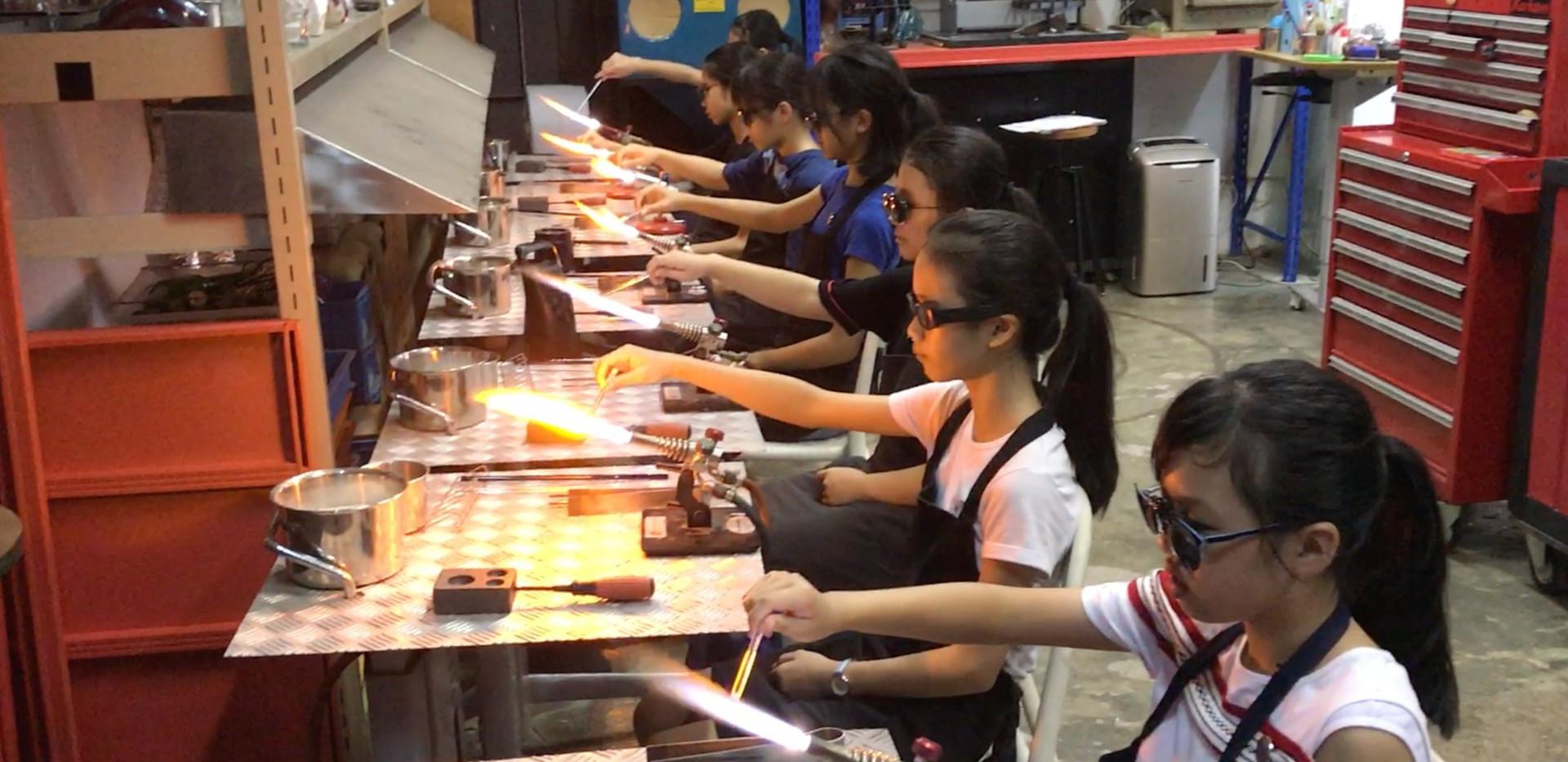 HTYC VA - Glass Art Junior Class - Flame