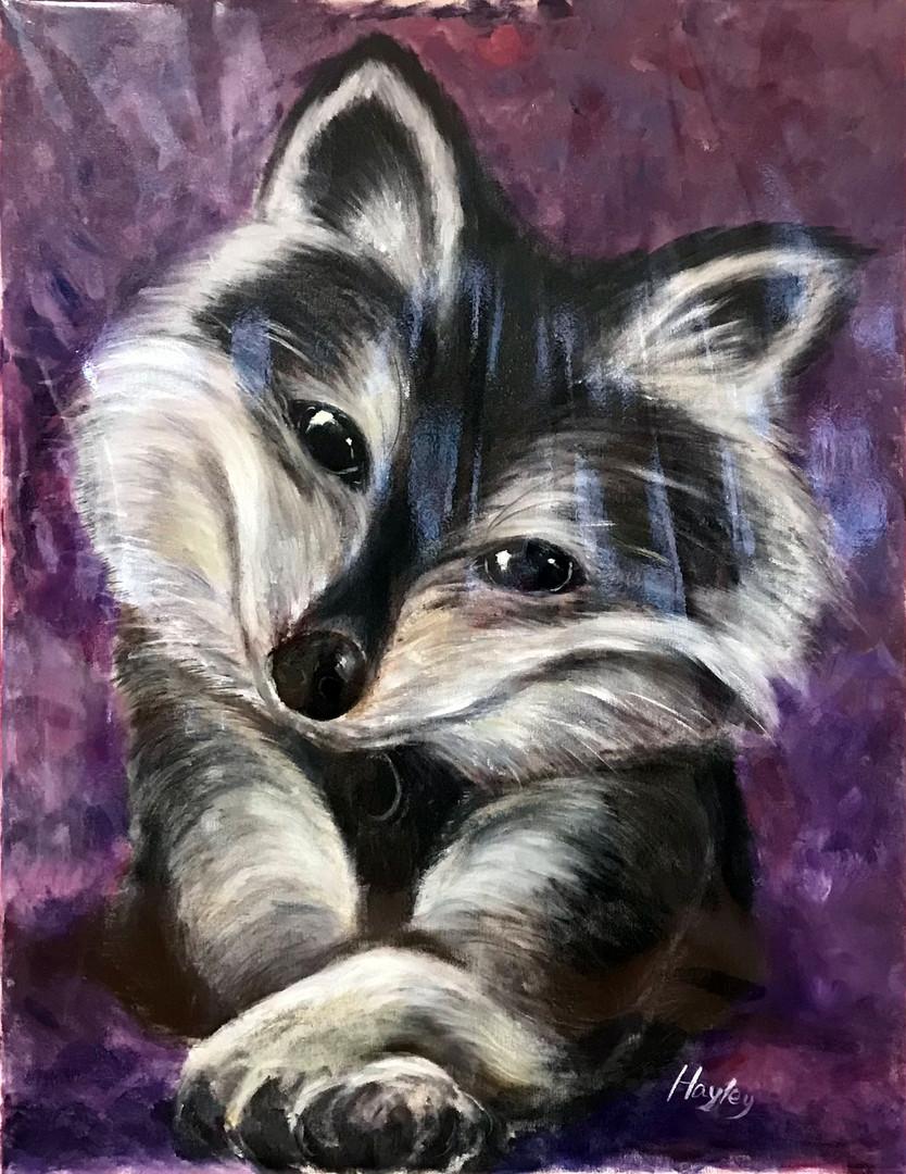 1C Ho HY, Untitled , 2018, Acrylic Painting on Canvas