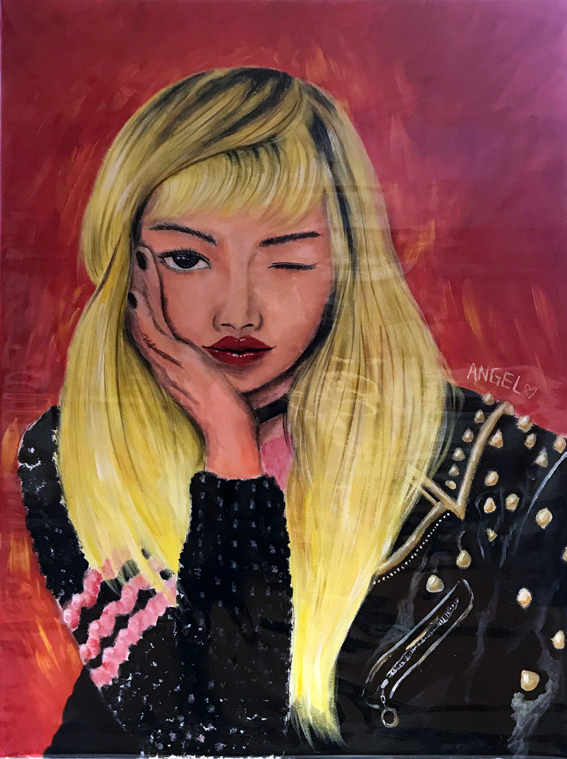 2B Cheung KW, Untitled, 2018, Acrylic Painting on Canvas