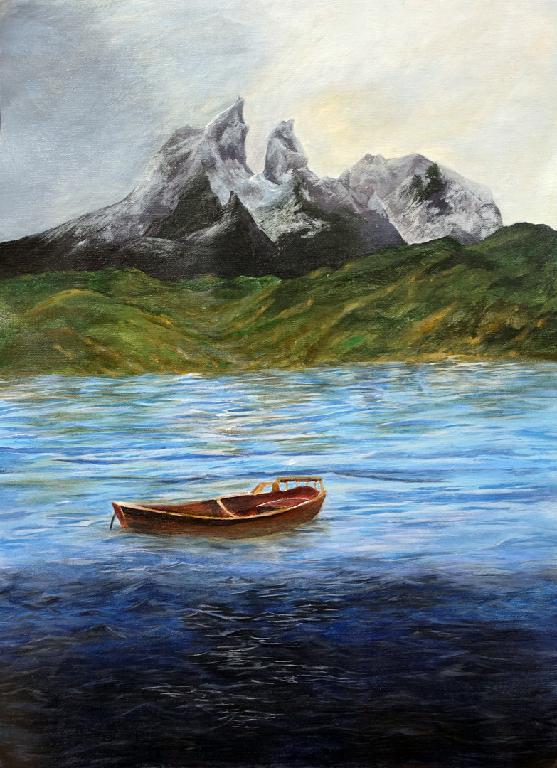 5C Lee SK, 綠洲, 2019, Acrylic Painting on Canvas.JPG