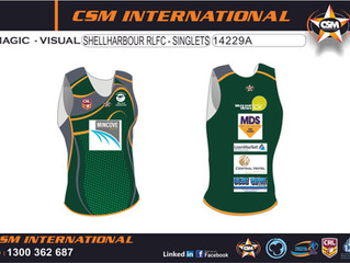 Take A Look At Our Seniors Singlets, Polo Shirts & Jerseys