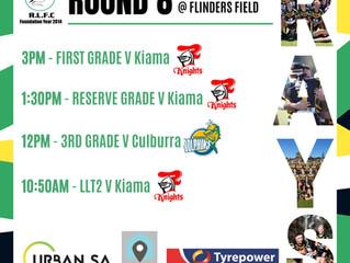 At home vs Kiama on Sunday!!