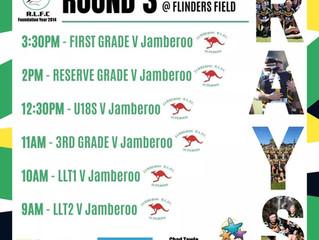 At home vs Jamberoo Sunday 2/5/2021