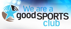 We Are a Good Sports Accredited Club