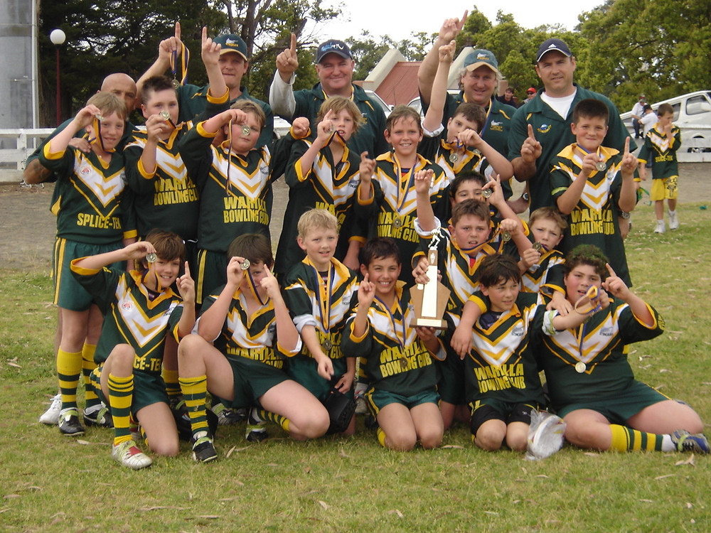 2005 U11B Grand Final Winners