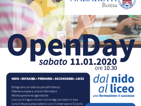 OPEN DAY 11.01.2020