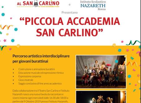 PICCOLA ACCADEMIA SAN CARLINO