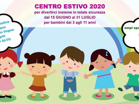 centro estivo 2020