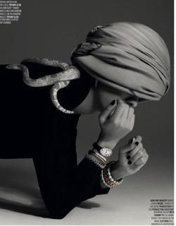 Esmeralda for Tiffany & Co. in Vogue