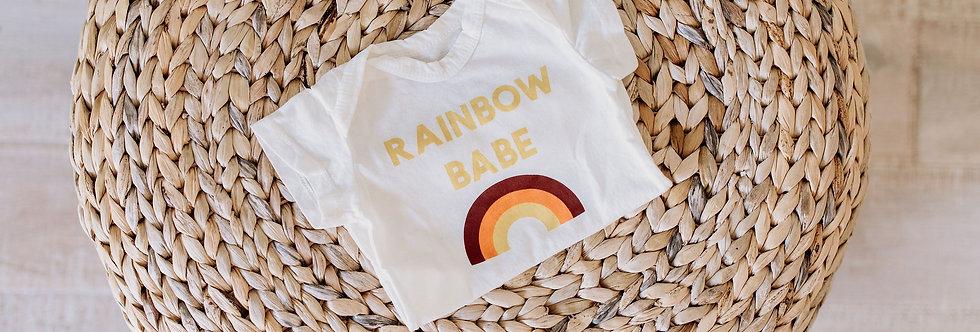 Rainbow Babe Onesie