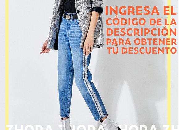 Jeans Boyfit Beverly Blue