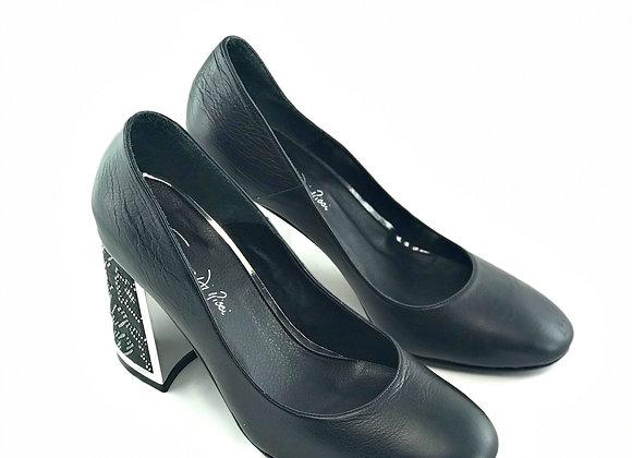 Zapato Black Silver