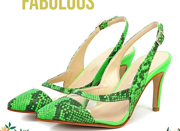 Sandalias Crystal Verdes