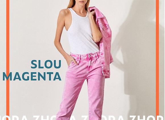 Jeans Slou Magenta