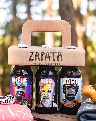 KIT 6-pack Revolucionário + Camiseta Zapata