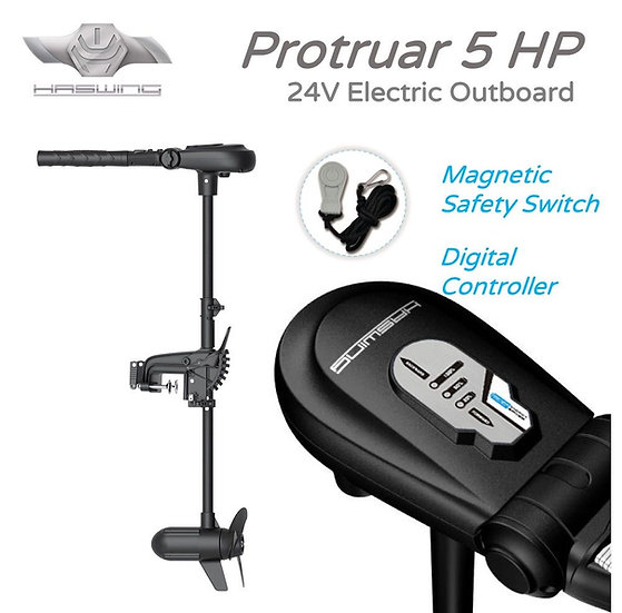 Haswing Protruar 5HPElectric Outboard 5HP