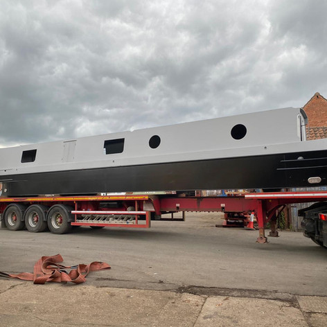 Arrival for fitting out