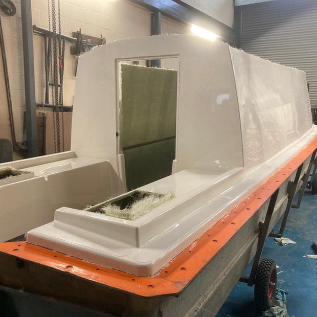 Top mould removed