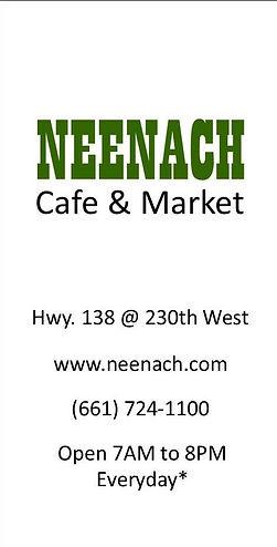 neenach, neenach cafe and market, coffee, brewed coffee neenach