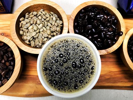 coffee, coffee beans, roasted coffee, green coffee