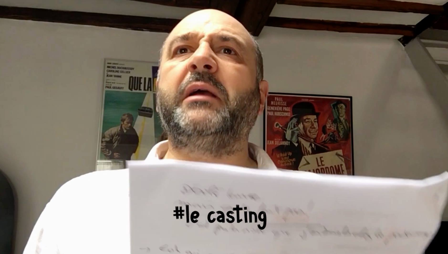 L'EMMERDANTE #le casting