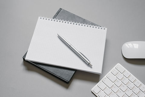 notebooks-or-diaries-with-blank-page-and