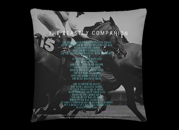 """Beastly Companion"" Pillow"