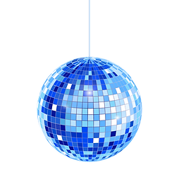 —Pngtree—abstract hanging disco ball in_