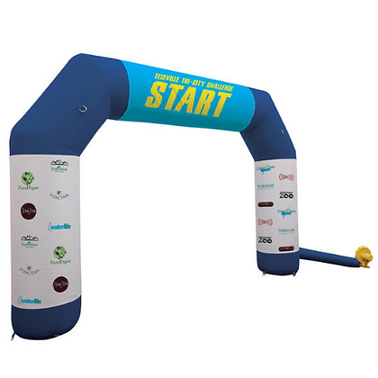 Arch Inflatable with Wraps Kit