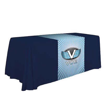 "28"" Standard Table Runner (Full-Color Dye Sublimation, Full Bleed)"