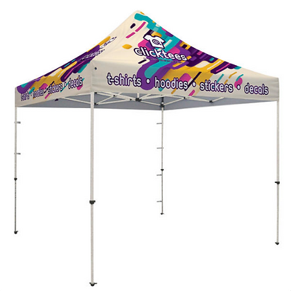 Standard 10' X 10' Event Tent Kit (Full-Color, Full Bleed Dye-Sublimation)
