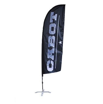 Angled Fly Banners
