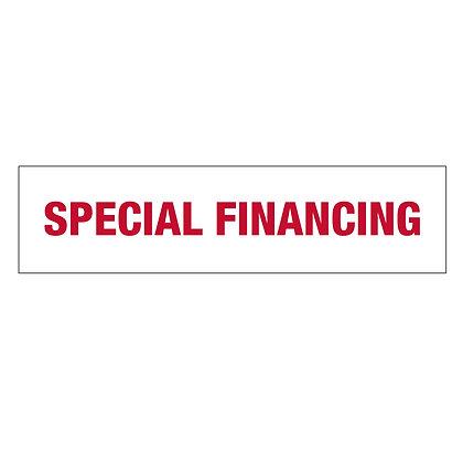 """Special Financing"" Rider"