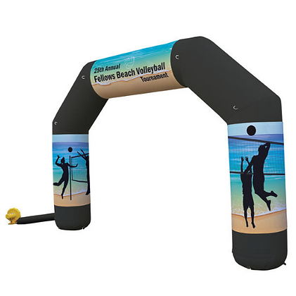 Jumbo Arch Inflatable with Wraps Kit