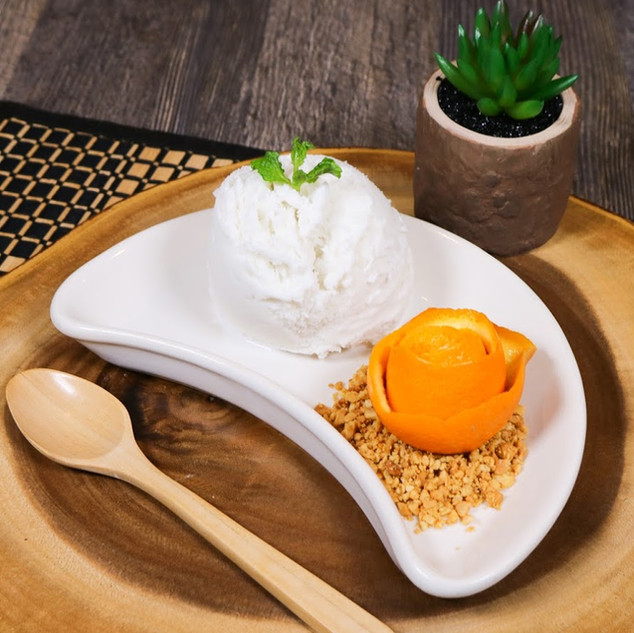 Homemade Coconut Ice Cream
