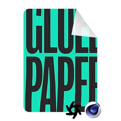 FREE - Glued paper - Scene File