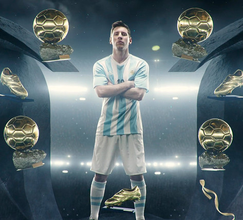 Adidas - Messi . There will be haters