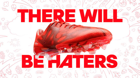 Adidas - There will be haters