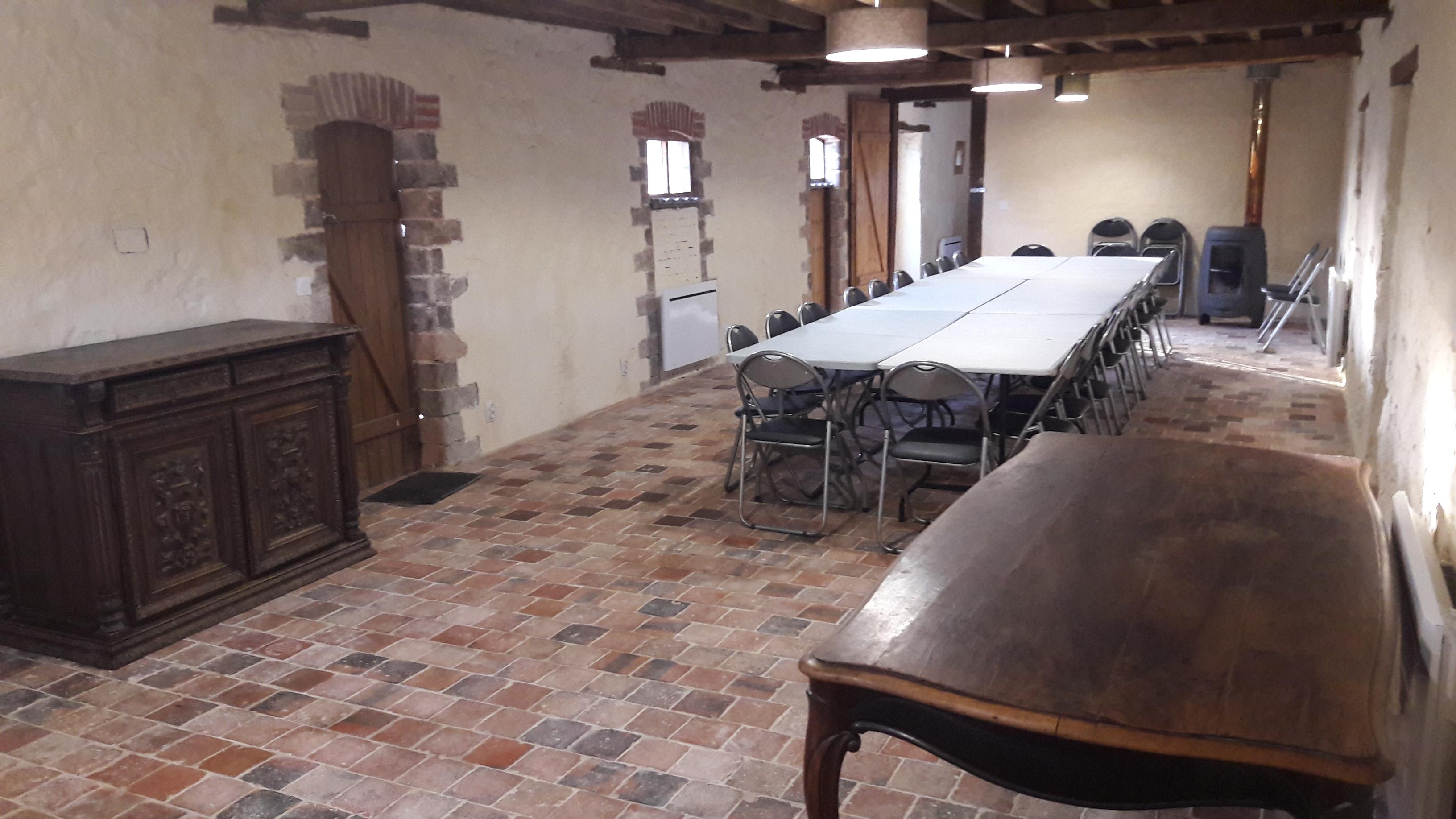 salle de chasse (ou dortoir 10 lits)