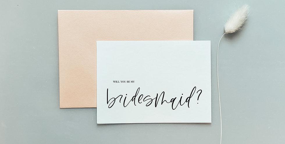 Brides Proposal Postcard