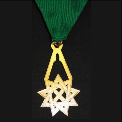 Royal Order of Scotland Green Sash Jewel