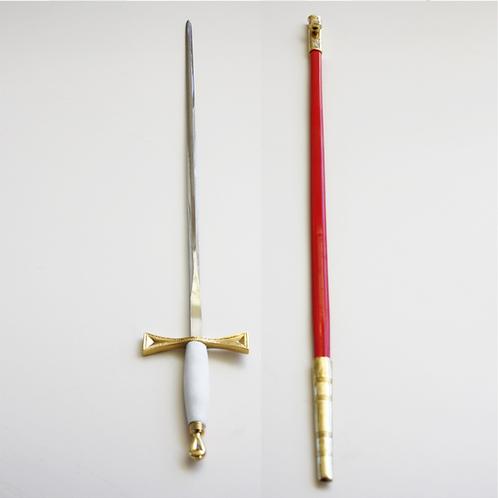 Red Cross of Constantine Sword& Scabbard